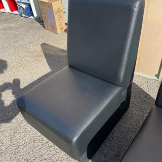 ☆1人用ソファ イス 椅子 チェア 黒 ブラック