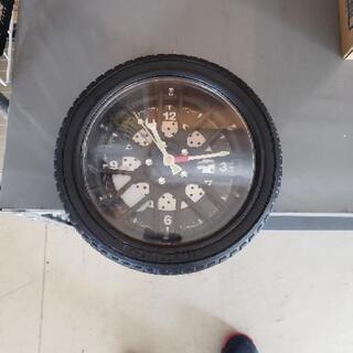 タイヤ置き時計