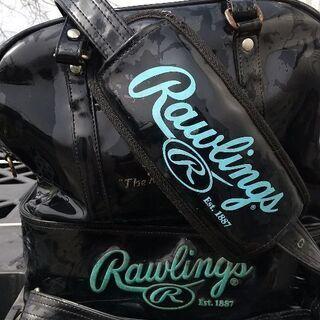 ローリングスエナメルバッグ二段式