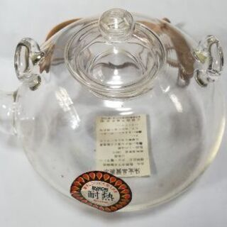 新品未使用 ガラス茶器セット