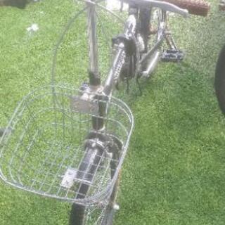 🆕★折り畳み自転車★前カゴ付★🆕