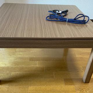 ニトリ 家具調コタツ テーブル 正方形 EN15-75 MBR