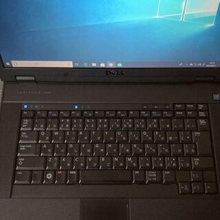 (代引可能)WIN10 DELL LATITUDE E5500(4台目) - パソコン