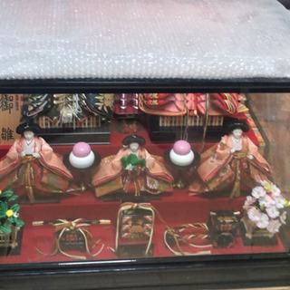 雛人形豪華オルゴール付き 未使用保管品