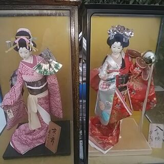 日本人形 2ケース (美品・浄化済)