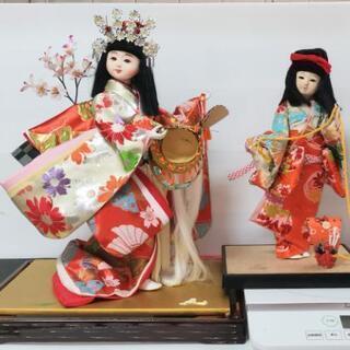 【ネット決済】ひな人形2個セット