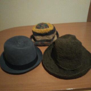 夏用の帽子、無料で差し上げます、お取引中