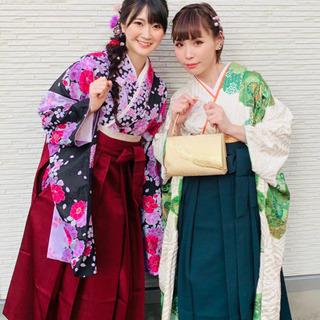 【卒業袴の着付け承ります】卒業式など女性用袴の着付け、メイク、...
