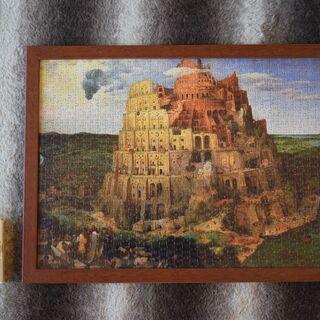 世界最小ジグソーパズル【完成品】『ブリューゲル(バベルの塔)』