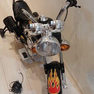 おもちゃの電動バイク 値下げ