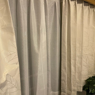 遮光カーテン・レースカーテンの画像