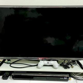 LG 32型 スマートテレビ & AQUOS ブルーレイレコーダー