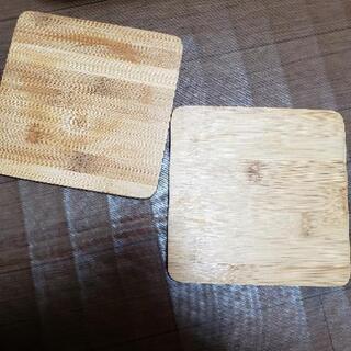 [10] スキレットの鍋敷き 木製 2つセット