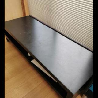 白い棚とIKEA黒テーブル譲ります(3月中旬)