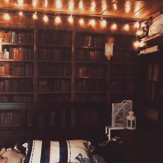 本棚の背景布