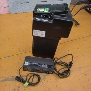 電動原付バイク ミレットLi350専用リチューム充電池+充電器 中古