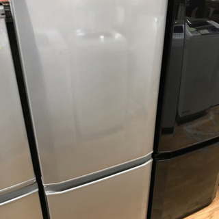 三菱 2ドア冷蔵庫 146L 2016年製 中古