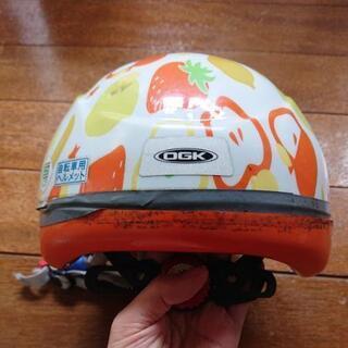 ☆取引完了☆自転車用ヘルメット(フルーツ柄) - 自転車