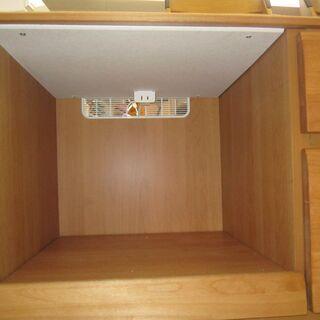 R096 国産 隈木工所製 キッチンカウンター、キッチンボード 幅100cm - 売ります・あげます