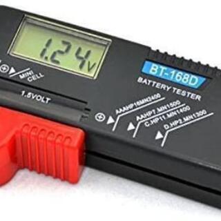 測定器 乾電池 テスター ボタン電池 残量 チェッカー 新品