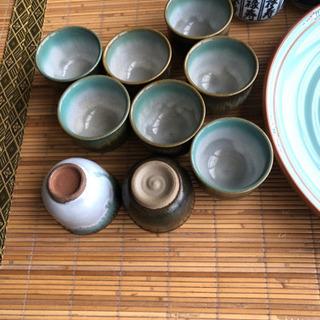 大皿、湯呑み - 筑紫野市