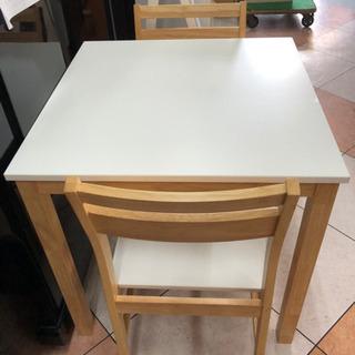 🌹美品🌹食卓テーブルセット(椅子2脚付)