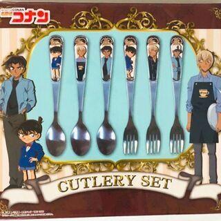 【新品未開封】名探偵コナン カトラリーセット 食器