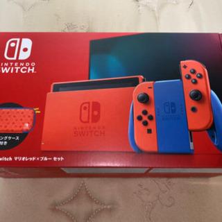 任天堂 Switch マリオレッド&ブルー 新品未使用未開封