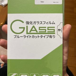 iPhone8plus用ガラスフィルム(ホワイト)(新品未…