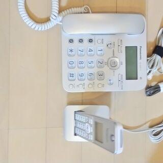 ☆値下げ!!☆パナソニック製☆電話機 VE-GZ31-S …