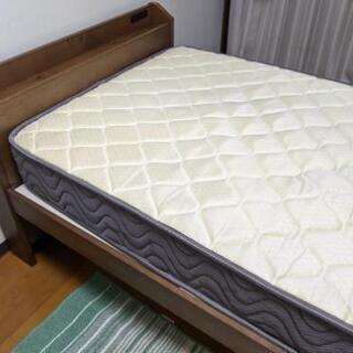 【ネット決済】ベッド & マットレス セット
