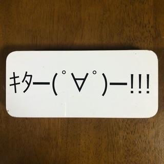 缶 キタ━(゚∀゚)━! 筆入れ ペンケース