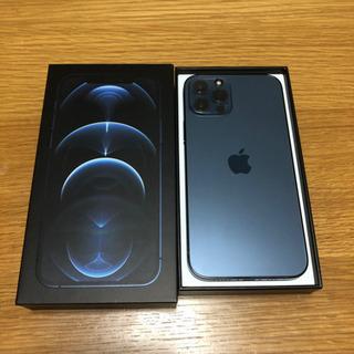 【ネット決済・配送可】iPhone 12 pro パシフィックブ...