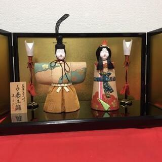 千寿雛 木目込 雛人形