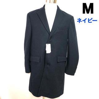 【新品】PIMLICO メンズ チェスターコート ネイビー 紺 M
