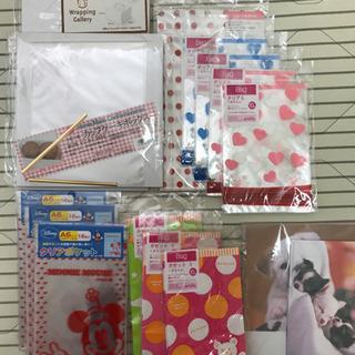 【ネット決済】ラッピング袋、便箋封筒、折り紙など