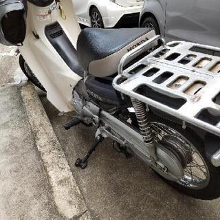 引渡予定者決定済 キャンセル待ち1名(エンジン新品)スーパーカブ110pro グリップヒーター付 - 売ります・あげます