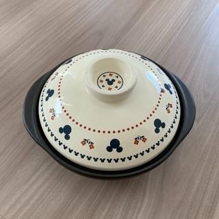 新品ディズニー ミッキー土鍋