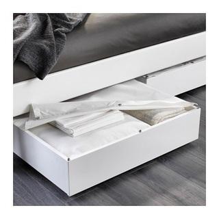 ベッド下収納ボックス ホワイト 白 - 松戸市