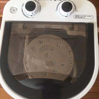 【ネット決済】ミニ洗濯機  たまに使用しました!