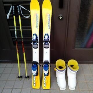 スキーセット(キッズ)板90 靴20 ストック80