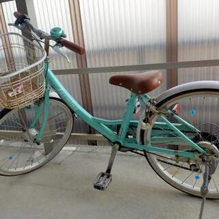 自転車 22インチ 女の子用