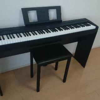 YAMAHA P-45B 電子ピアノ + アクセサリー