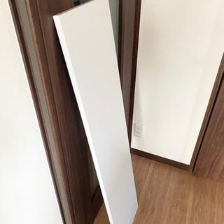 【値下げ】アイリスオーヤマ カラー化粧棚板 天板 ホワイト