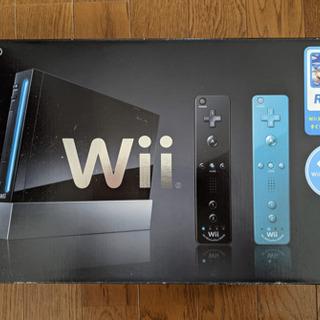 任天堂 Nintendo Wii 本体 (クロ) Wii リモコ...