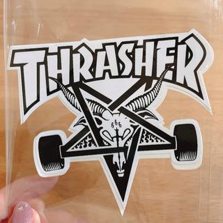 THRASHERステッカー