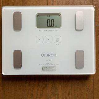 体重、体脂肪計 オムロン