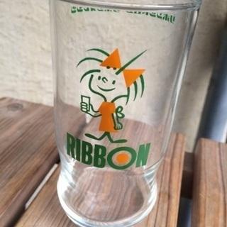 昭和レトロ☆佐々木ガラス リボンシトロングラス 10個まと…