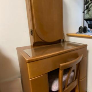 国産婚礼家具 三面鏡