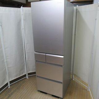 JAKN2009/冷蔵庫/大型/5ドア/自動製氷/右開き/シャン...